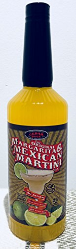 Award Winning Cedar Door's (34oz) Original Mexican Martini and Margarita Mix, Gluten Free, Pure Cane Sugar, Austin, Texas