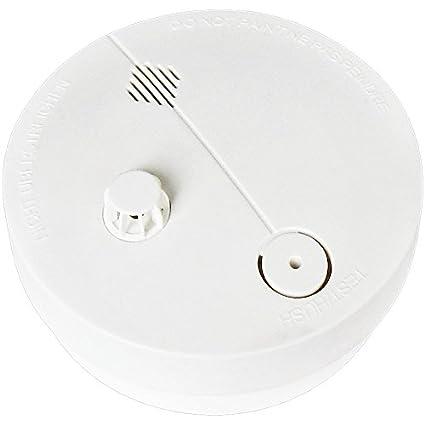 Garza Power - Detector de Calor contra Incendios con Alarma de Seguridad de 85dB, Botón