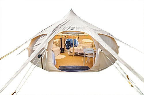 Original Lotus Belle 16ft Outback Deluxe Tent Made of 360gsm Canvas Material - Ethically Made Heavy Duty Cotton Canvas Built to Last All Season in Any ...  sc 1 st  Floor Jacks Online & Original Lotus Belle 16ft Outback Deluxe Tent Made of 360gsm ...