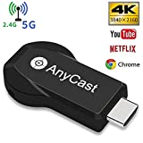 YEHUA Wifi Display Dongle Wireless HDMI 4k 5G / 2.4G for Phone/Pad Miracast Airplay DLNA TV Stick for Android/Mac/IOS/Windows