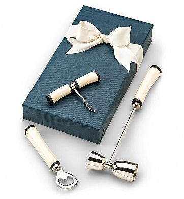 Admiral Three Piece Bar Tools Gift (Champagne And Chocolate Gift Delivery)