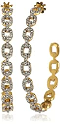 Juicy Couture Pave Link Earrings