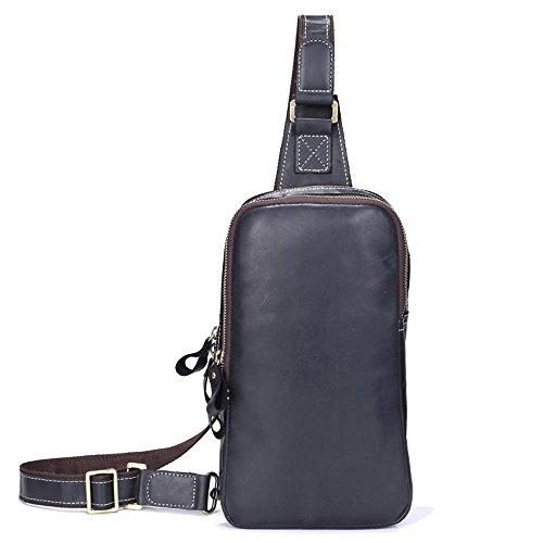 tracolla esterni multifunzionale borsa Borsa a in a tracolla uomo per pelle borsa Haixin sportiva in pelle zaino moda nAf1qn8B