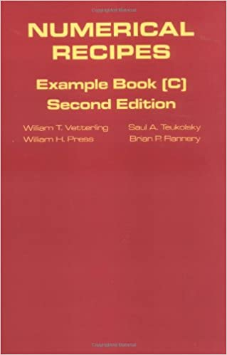 Download Numerical Recipes Example Book C By William T Vetterling