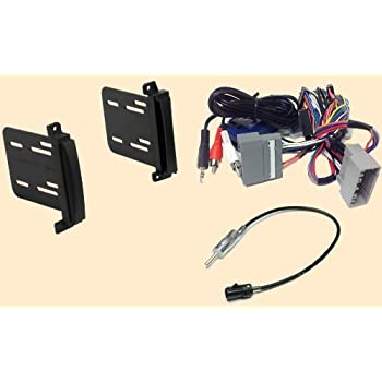 41s%2Be5XGDoL._SL500_AC_SS350_ amazon com radio stereo install double din dash kit steering double-din radio install dash kit+wire harness plug at fashall.co