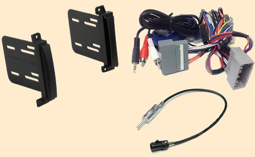 41s%2Be5XGDoL amazon com radio stereo install double din dash kit steering double din wiring harness at gsmportal.co