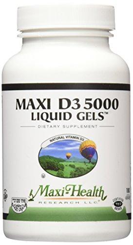 Maxi Health 5000 Liquid Gels product image