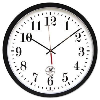 Atomic Slimline Contemporary Clock, 16-1/2