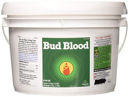 Advanced Nutrients 2300-52-4 Bud Blood Powder, 2.5kg, 2.5 Kg Brown/A