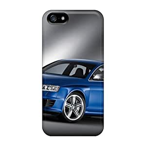 Rugged Skin Cases Covers For Iphone 5/5s- Eco-friendly Packaging(audi Rs 6)