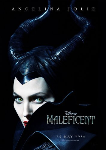 Maleficent 2014 12x18 Movie Poster Thick Angelina Jolie Elle Fanning Sharlto Copley