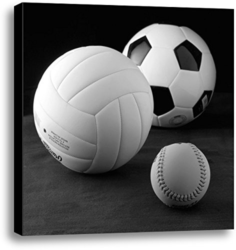 Heritage 1093 Girls 2 Balls Canvas Print by Richard Reynolds, 36 by 36 by 1.5-Inch