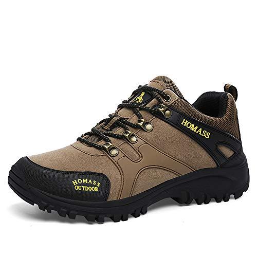 Trekking Herren Outdoor 47 36 Gr Schuhe Walkingschuhe ZOEASHLEY Khaki Wanderschuhe Damen Wasserdicht dXzEqv