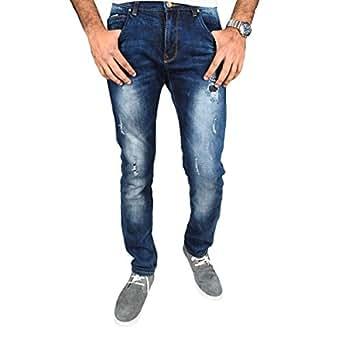 Tozai Line Blue Slim Fit Jeans Pant For Men