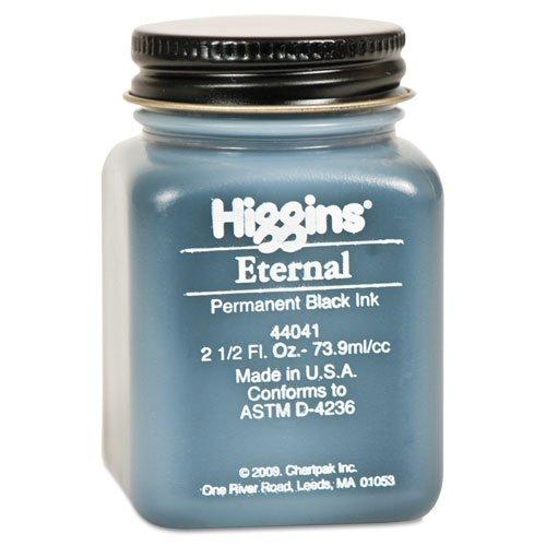 Sanford Black Ink Bottle - Higgins Eternal Black Writing Ink 2 1/2 oz. (black)