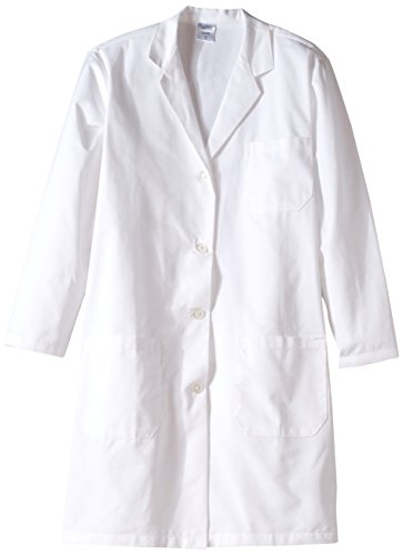 United Scientific LCLS01 Polyester/Cotton Women's Knee Length Lab Coat, Small, Size 36 by United Scientific Supplies