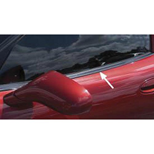 Eckler's Premier Quality Products 25286855 Corvette Door Window Seal Outer Upper Convertible