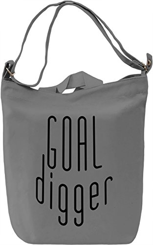 Goal Digger Borsa Giornaliera Canvas Canvas Day Bag| 100% Premium Cotton Canvas| DTG Printing|
