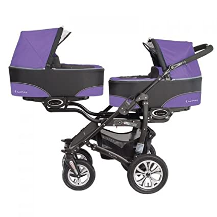 Baby Active twinni Zwilling cochecito Carrito Zwilling Buggy ...