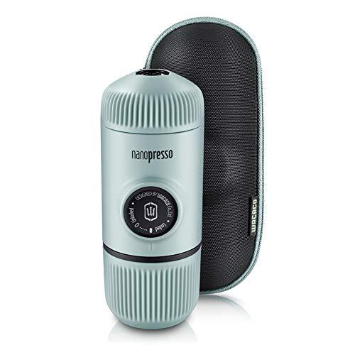 WACACO Nanopresso máquina de café espresso portátil con protectora Nanopresso S-Case adjunto, actualización de la de…