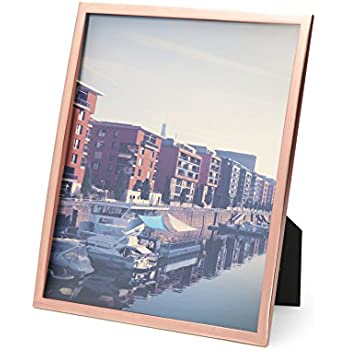 Amazon Com Umbra Senza Metal Picture Frame 8 By 10 Inch
