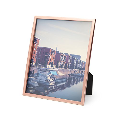Copper Photo Frame (Umbra Senza Metal Picture Frame, 8 by 10-Inch, Copper)