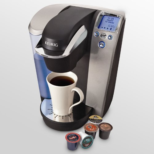 Platinum Small Coffee Pot - Keurig B70 Platinum Brewing System