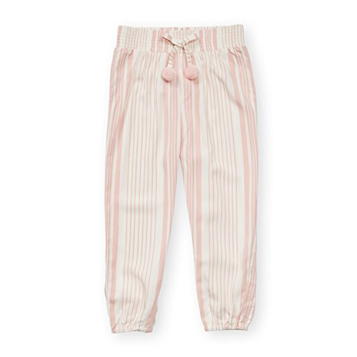 Simpsons Lounge Pants - Jessica Simpson Girl's Elastic Waist and Ankles Casual Lounge Pants Blossom Resort Stripe 4