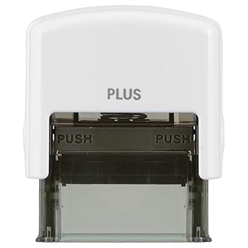 Plus Guard Your ID Stamp, Small,  Glossy White , 1 Pad ()