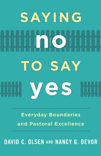 Saying No to Say Yes: Everyday Boundaries and Pastoral Excel