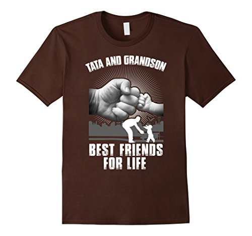 mens-tata-and-grandson-best-friends-for-life-t-shirt-large-brown
