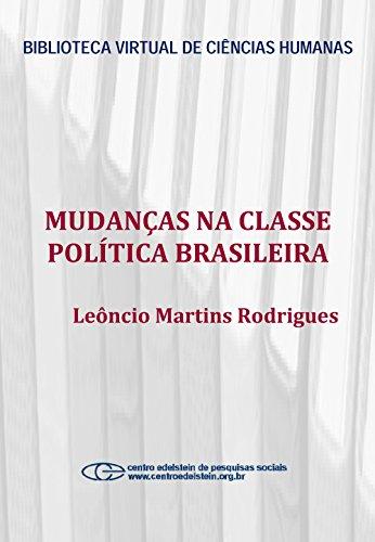 Mudanças na classe política brasileira