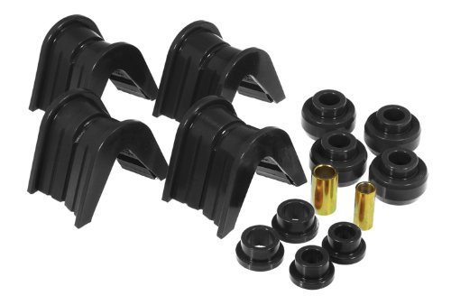 Bushing Control Offset Arm (Prothane 6-1901-BL Black 2 Degree Offset Complete Bushing Kit)