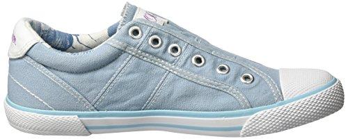 s.Oliver 53211, Zapatillas para Niños Azul (LT BLUE 810)