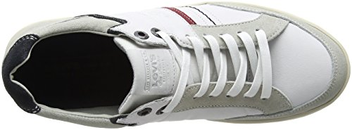Bianco Noir Beyers Uomo Levi's Regular Sneaker White fHntq1xW8x