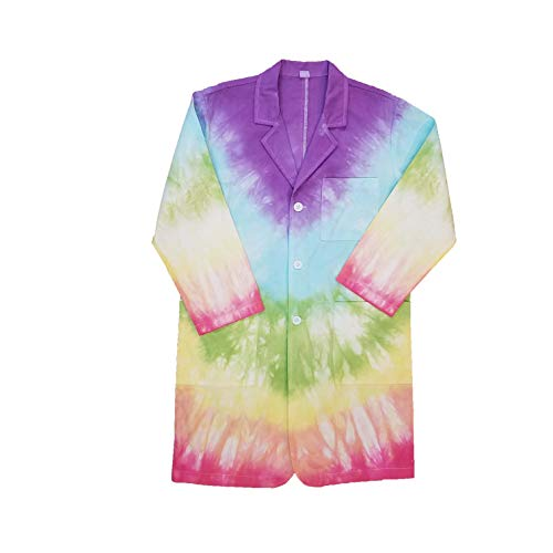 Aeromax Tie Dye Lab Coat Size Youth Large