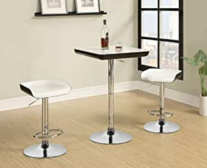 3 Piece Bar Table and Stool Set