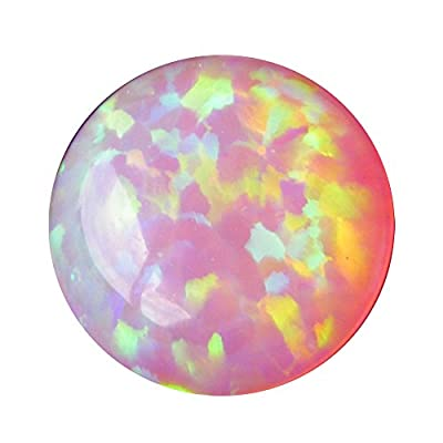 Fire Opal Cabochon, Round Shape Cabochon Single Piece Fire Opal, 10mm Callibrated Cabochon, Jewelry Making Cabochon AS-13216