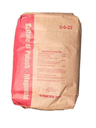 Sul-Po-Mag Potassium Magnesium Sulfate K-MAG Fertilizer Pota