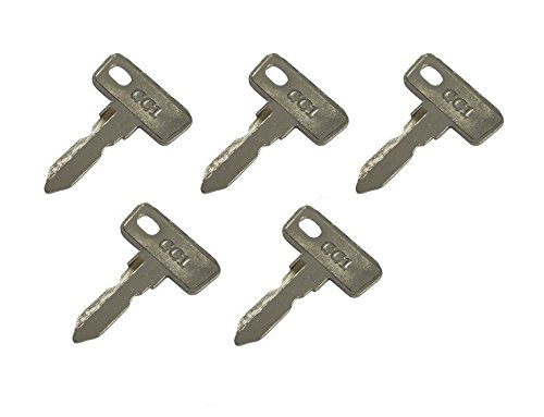 Automotive Authority LLC Club Car Ds/Precedent (1982+) Gas/Electric Golf Cart Replacement Ignition Keys (5) 5 Pack