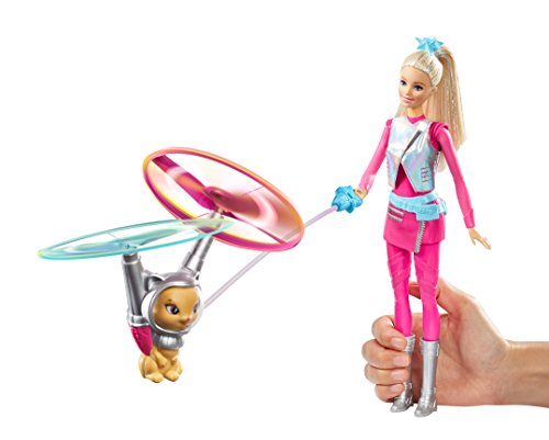 (Barbie Star Light Galaxy Barbie Doll & Flying Cat)