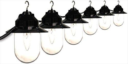 Polymer Products LLC Old Savannah Six Globe String Lights