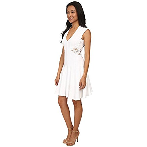 Stretch Connection Dress Marie 71DYJ Womens White French 6twSxRqS