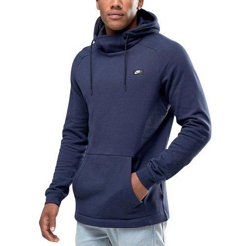Uomo Cappuccio obsidian Modern Ft Nsw Con Nike Blu Felpa M Po qO84FP