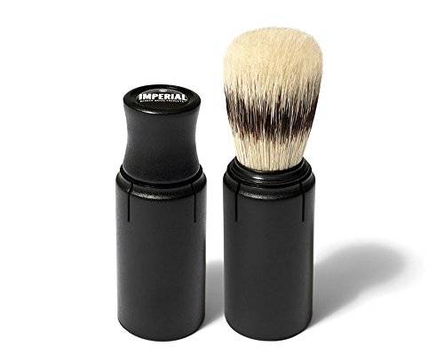 Imperial TSB Barber Boar Bristle Travel Shave Brush