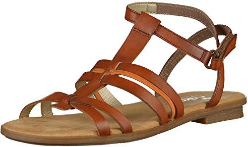 Rieker Woman Clarino Sandal Amaretto Braun