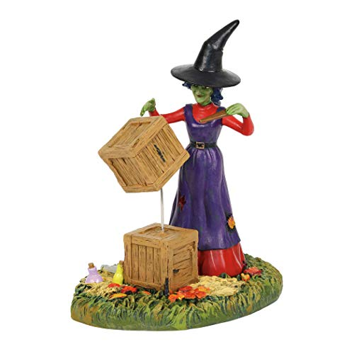 (Department56 Snow Village Accessories Halloween Moving with Magic Figurine 3.9