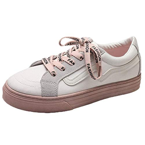 Fashion Shoes Casual Girls FALAIDUO Student Fashion Teen Beige Shoes Board Flat Women Shoes Canvas Vintage d4K4WcUyCR