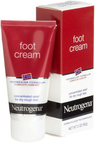 Neutrogena Crème norvégienne pied Formule pour pieds secs bruts, 2 once (Pack de 4)