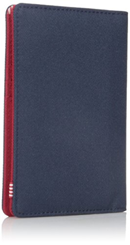 41s%2BmwDADTL - Herschel Men's Raynor RFID Passport Holder, Navy/Red, One Size